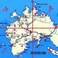 Bodrum Map & Destination Index Page