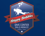 Logo for Happy Bubbles Diving Gumbet Bodrum Peninsula Turkey