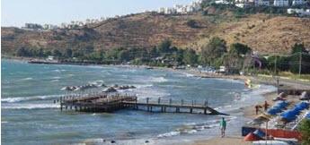Palamut Beach Turgutreis Bodrum Peninsula Turkey