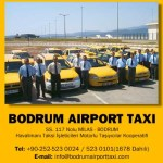 Bodrum Airport Taxi Ad