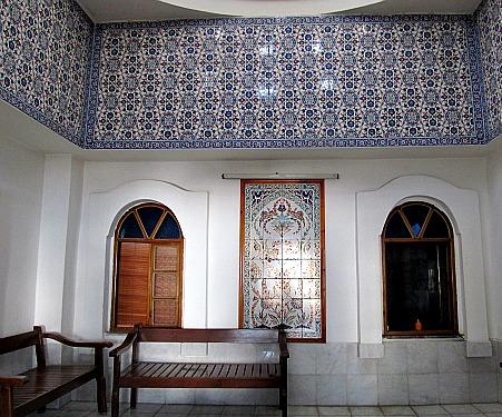 Turkish Bath Bodrum Interior