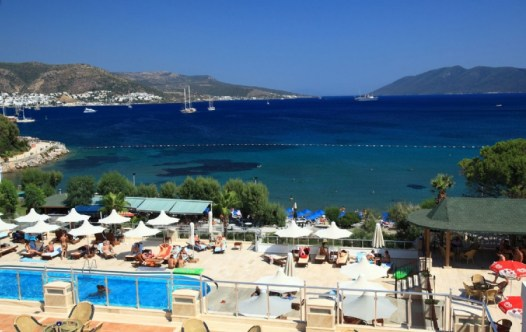 Bardakci Beach and Bay Views Bodrum Peninsula Turkey