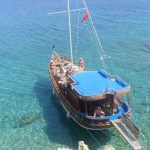 Adorya Boat on the Aegean