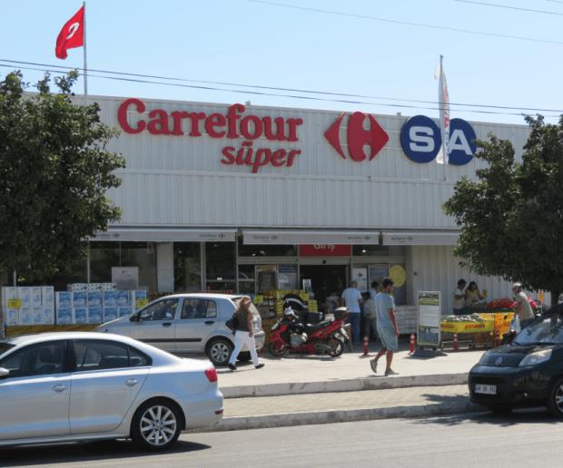 Carrefour Supermarket Turgutreis Bodrum Turkey