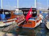 Bitez Day Boat Harbour Bodrum Peninsula Turkey