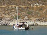 Siesta Boat Trip Bitez Bodrum Peninsula Turkey
