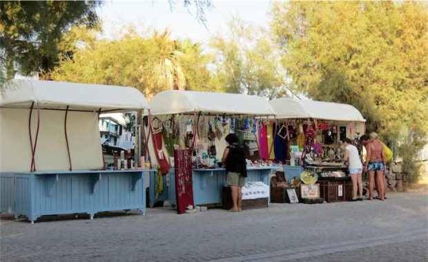Ortakent Yahsi Craft Stalls Bodrum Turkey
