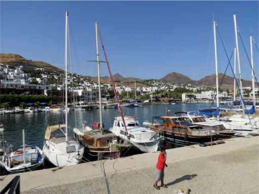 Akyarlar Bodrum Peninsula Turkey Boat Harbour
