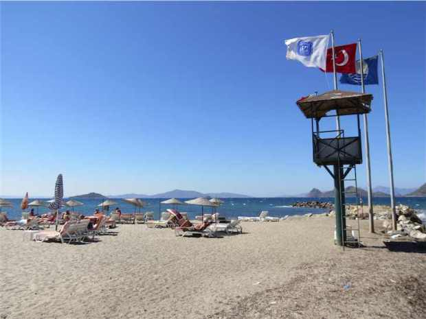 Turgutreis Beach Bodrum Turkey