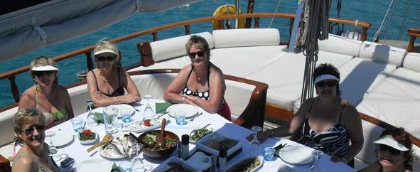 Bodrum Boat trip Turkey