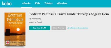 Kobo Image for Bodrum Peninsula Travel Guide Jay Artale
