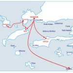 Bodrum Ferryboat Routes for Turkey and Greece