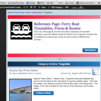 Turgutreis Destination Index Page