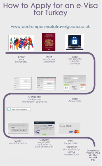 Apply for an eVisa Infographic