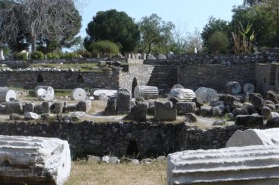 Mausoleum of Halikarnassus Bodrum Turkey