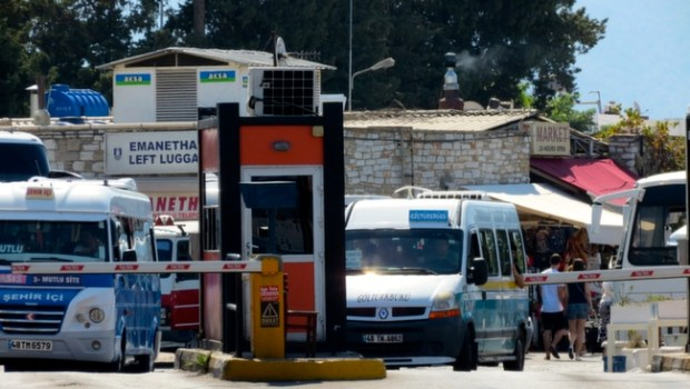 Bodrum Left Luggage at Bus Station Turkey