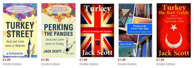Jack Scott Books about Turkey