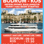 Bodrum Kos Ferry Service Dentur Avrasy Turkey