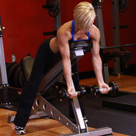 Dumbbell Incline Curl
