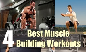 4 Best Muscle Building Workouts