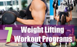 7 Weight Lifting Workout Programs