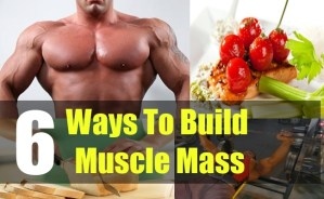 6 Ways To Build Muscle Mass