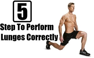 Lunges Correctly
