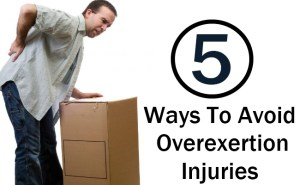 Avoid Overexertion Injuries
