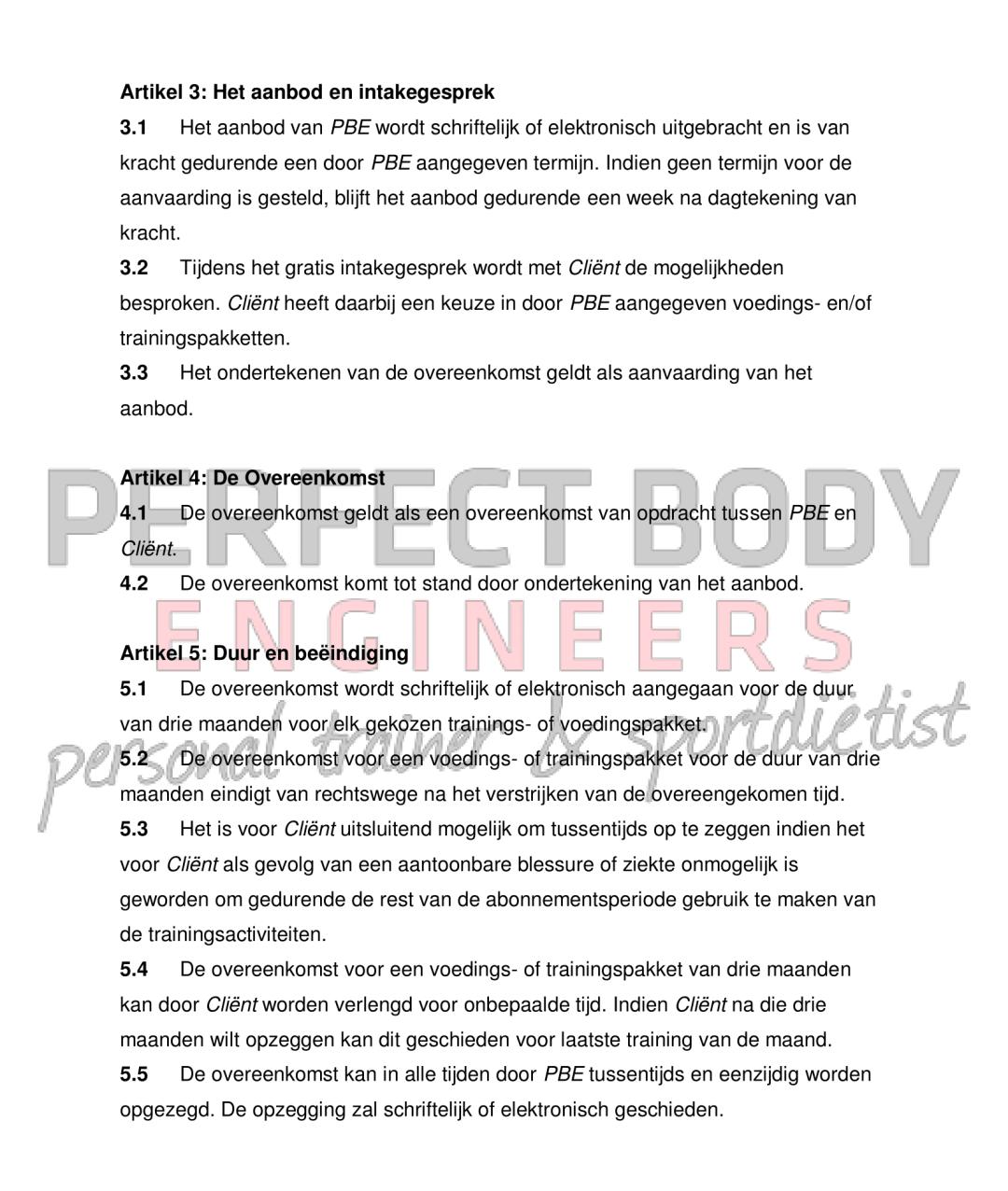 Algemene voorwaarden Perfect Body Engineers-2