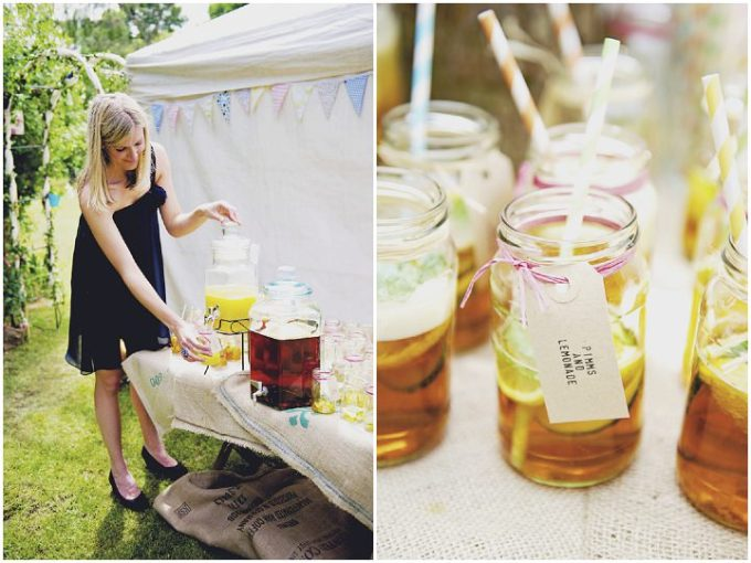 16 Rustic Garden Party Wedding By Candid & Frank Photography