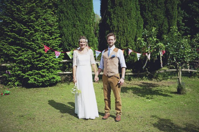 27 Rustic Garden Party Wedding By Candid & Frank Photography