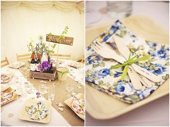 50 Rustic Garden Party Wedding By Candid & Frank Photography