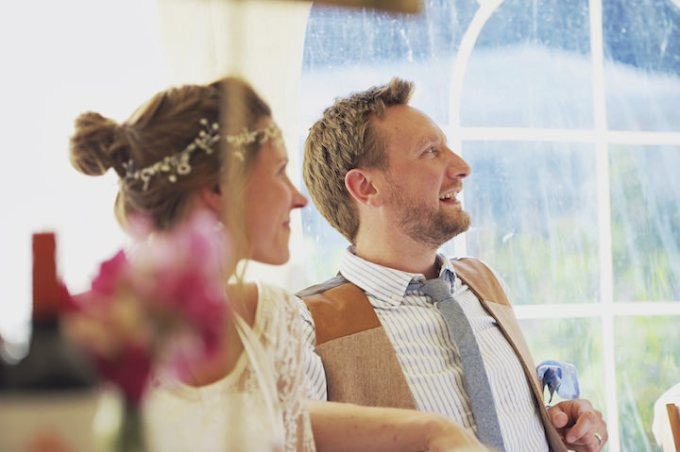 54 Rustic Garden Party Wedding By Candid & Frank Photography