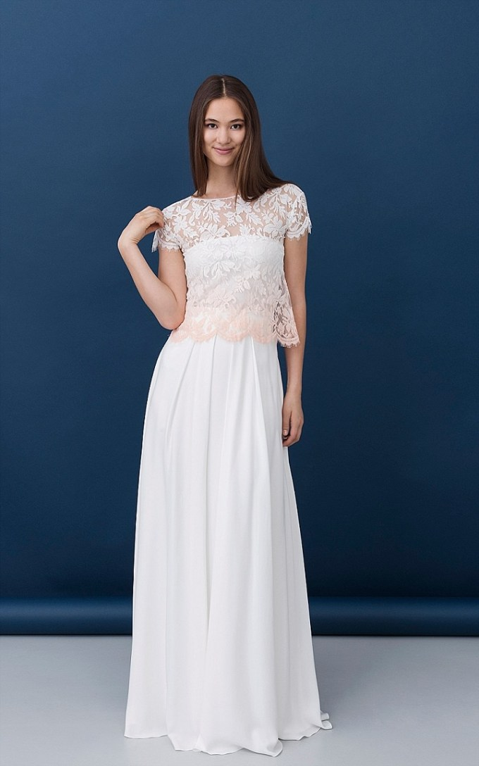 Bridal Style: Swedish Midsummer Bridal Collections from Kisui Bride