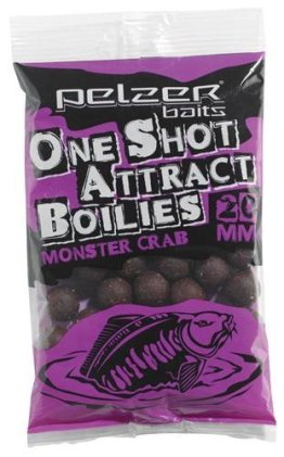 Pelzer One Shot Attract Boilies Monster Crab 20mm 250g - 1