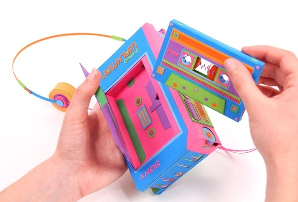 Back to Basics: Retro Electronics Made of Paper by Zim and Zou paper art .jpeg