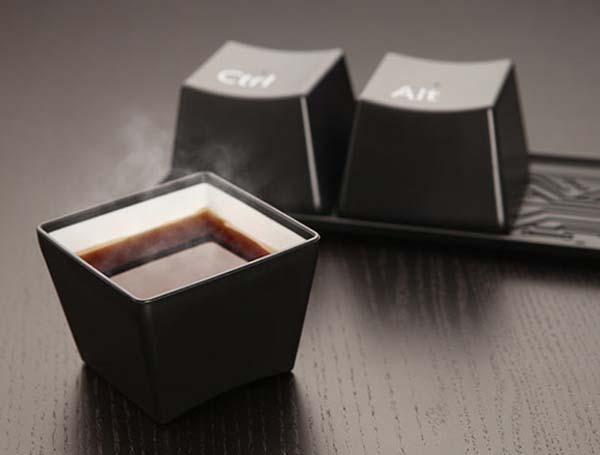 CtrlAltDelete Cup Set 3 Sophisticated Ctrl Alt Delete Cup Set from ThinkGeek.jpeg