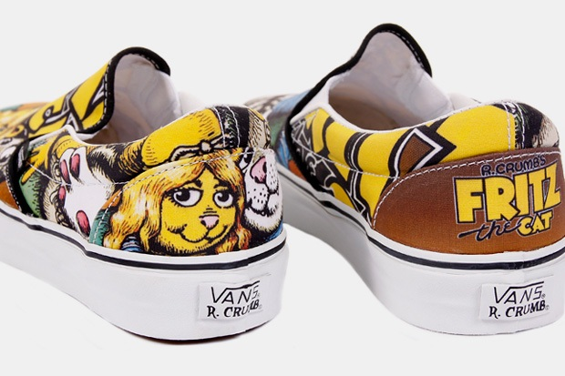 Wp-Content Uploads 2009 10 Robert-Crumb-Vans-Sk8-Hi-Slip-On-1