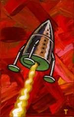 rocketpainting