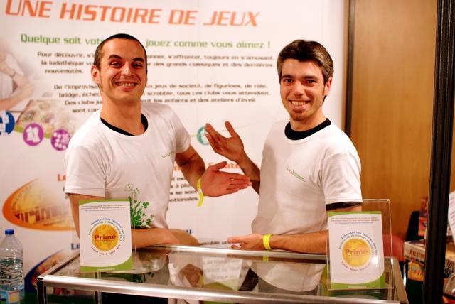 Manuel Rozoy et Gaëtan Besieux