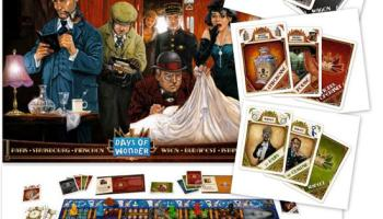 Mystery Express, Le jeu 2010 de Days of Wonder