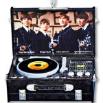 2151   1990's 3″ RESIN BEATLES RETRO RECORD PLAYER!  SOLD OUT!!!