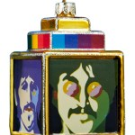 """4152     3.75″ GLASS  YELLOW SUBMARINE """"SEA OF SCIENCE"""" ORNAMENT!  SOLD OUT!!!"""