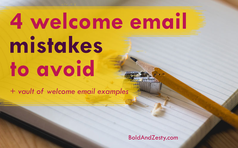 "4 Welcome Email Mistakes To Avoid. Welcome emails play a vital role in subscriber engagement , but many marketers have one just... ""because"". You're supposed to have, right? Sure, but there are very strategic things you should attempt to accomplish with welcome emails ..."