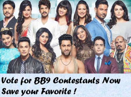 BB9 Voting Details  Vote for Bigg Boss 9 Contestants by SMS Number bb9 vote