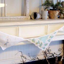 Vintage Handkerchief Buntings