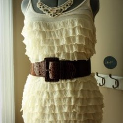 Ruffled Nursing Tank