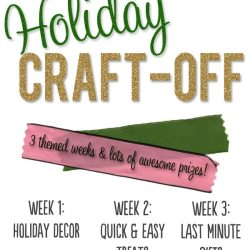 Holiday Craft-Off Update