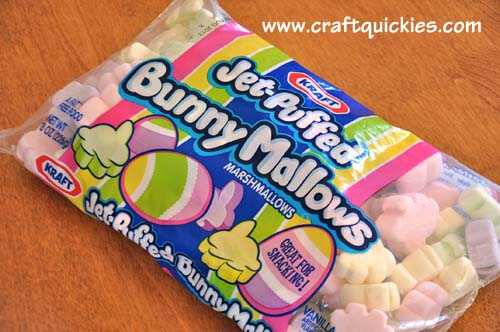 Bunny Marshmallow Dippers from Craft Quickies 1