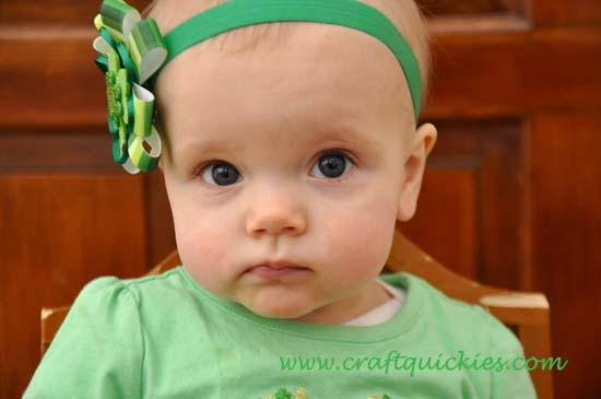 Lucky Charm Hair Bow 11